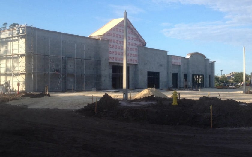 shoppes at granada construction