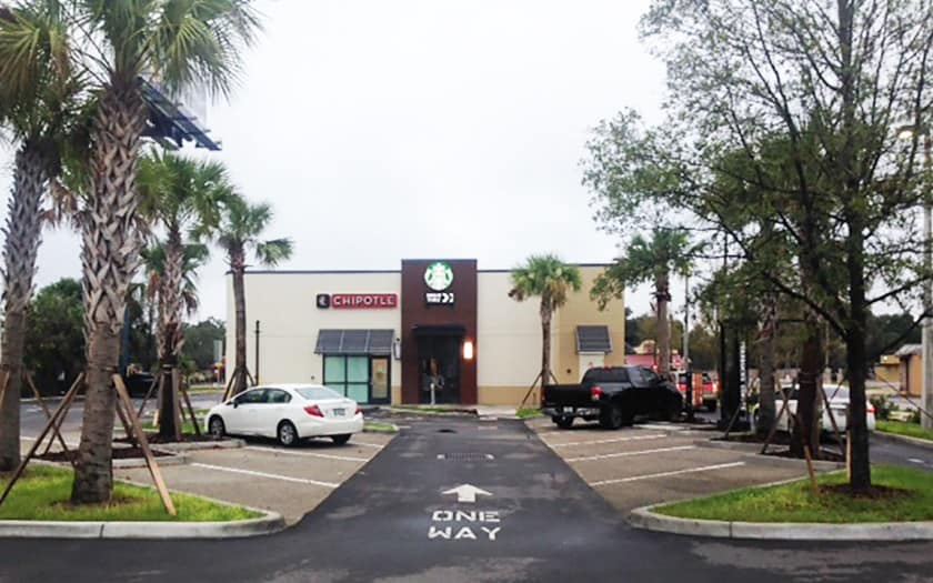chipotle starbucks dale mabry tampa construction
