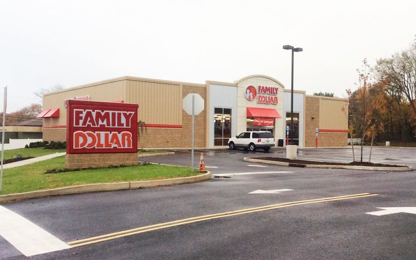family dollar newfield nj construction