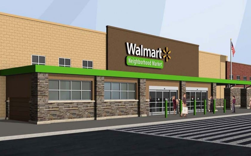 walmart neighborhood market construction