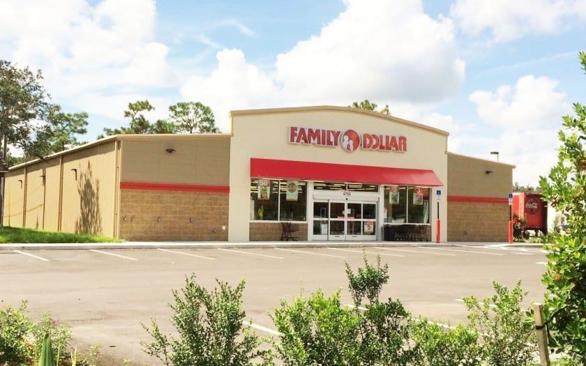family dollar port st john fl construction