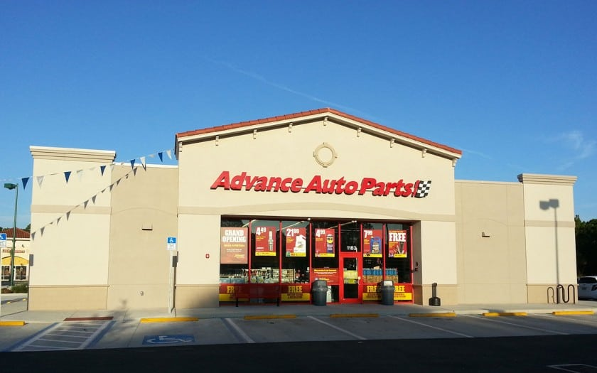 advance auto parts north port construction
