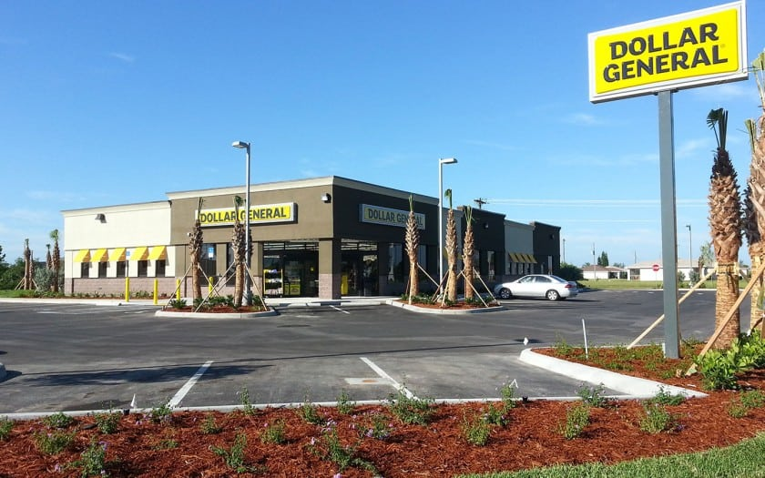 dollar general cape coral construction