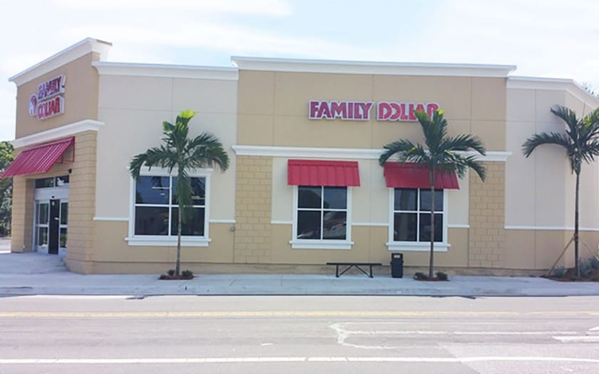 family dollar boynton beach construction